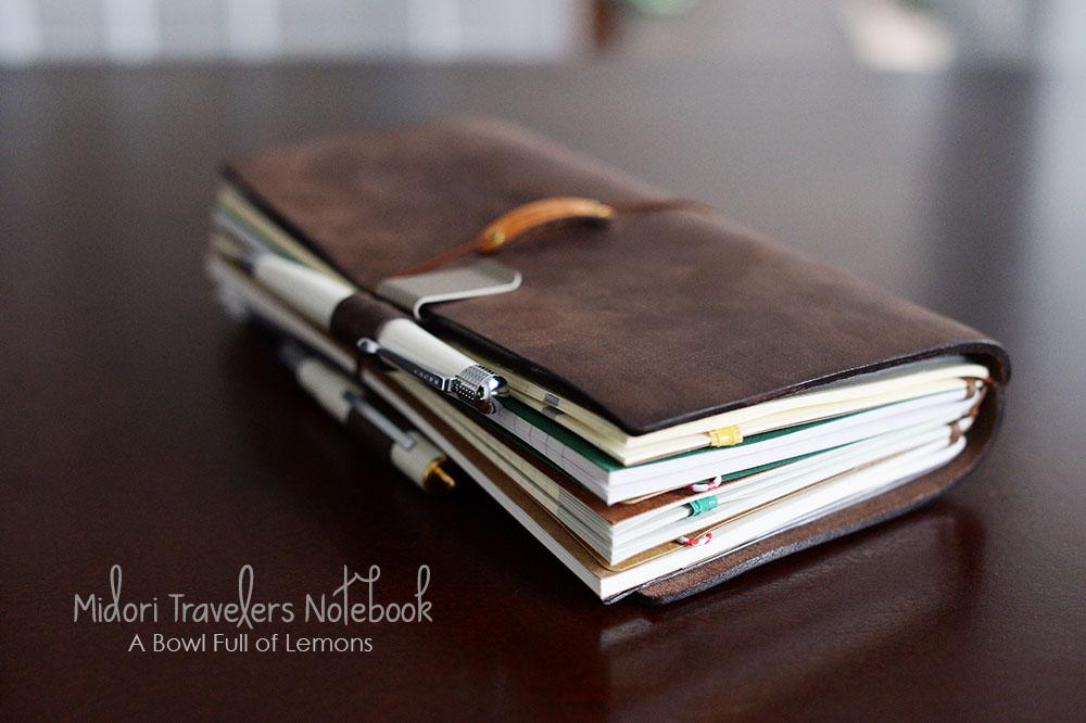 How To Use Midori Traveler S Notebook